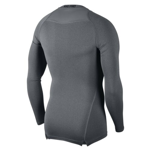 XXL Mens Nike Pro Compression Crew Neck Long Sleeve T Shirt Base Layer Top S