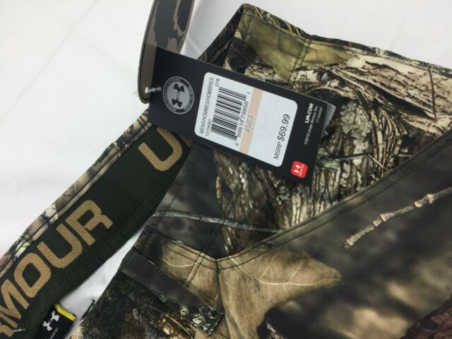 29050a7ce6 Details about Under Armour Camo Mens Early Season Field Hunting Pants Size  34/32, #1279682 278