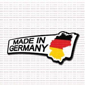 Made In Germany Vinyl Decal Car Truck Window Sticker Euro Audi VW BMW Porsche!