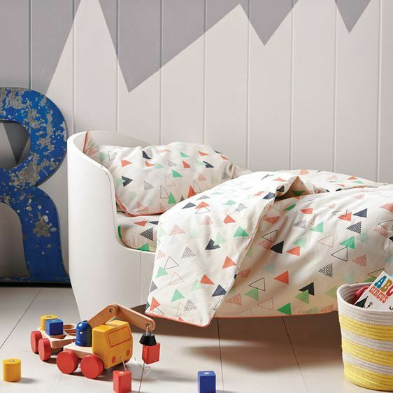 NEW Hiccups Peaks Cot Quilt Cover Set