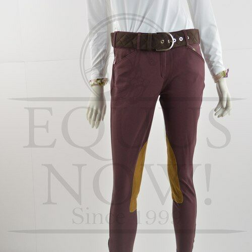 Tailored Sportsman Ladies Front Zip Trophy  Breeches - 1967 - Bordeaux