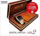 Mondo Watch Digital Watch Led2 by Takaharu Hamano (Hardback, 2016)
