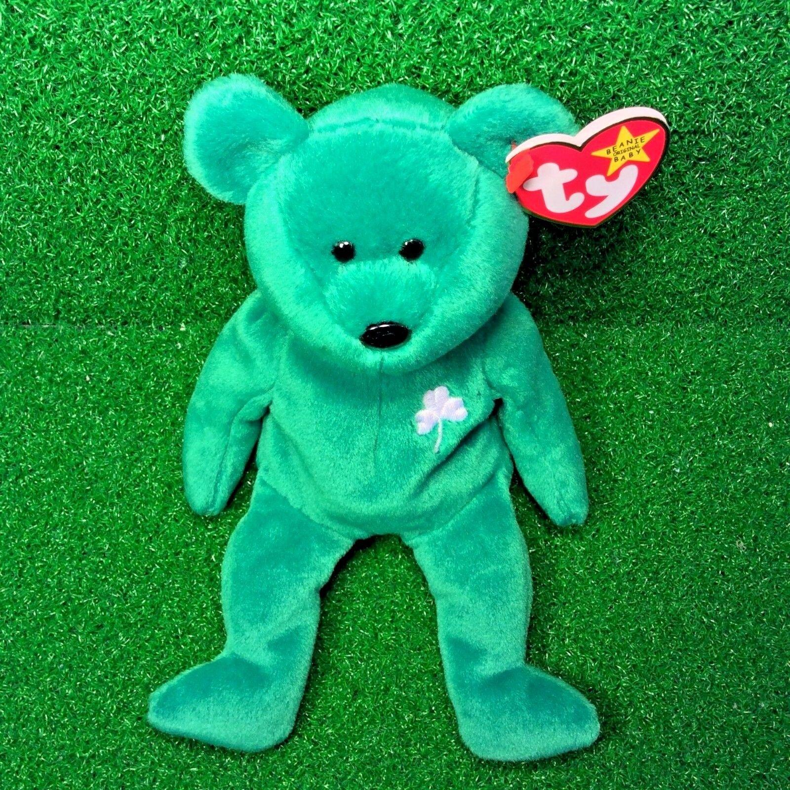MWMT 1997 1997 1997 Retired Erin The Bear Original TY Beanie Baby