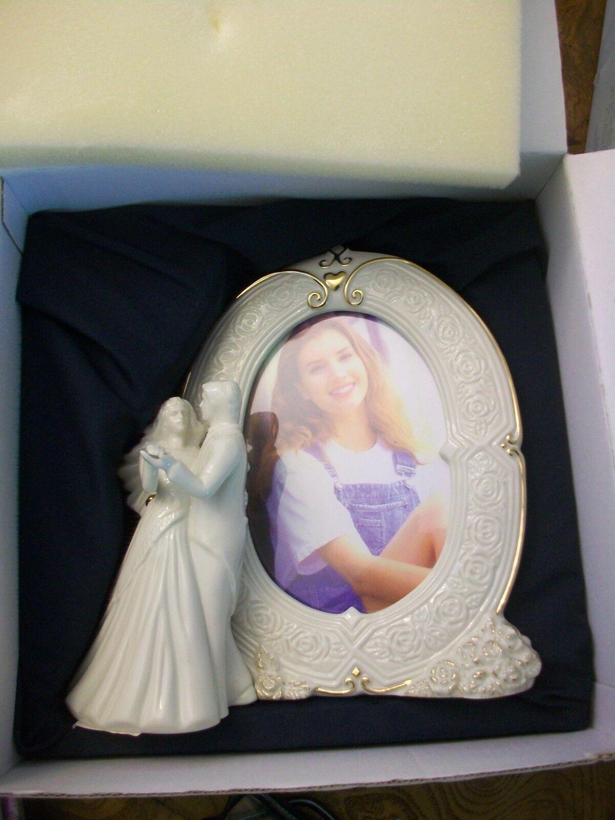Mikasa Fine Porcelain Wedding Bells Bride & Groom Picture Frame | eBay