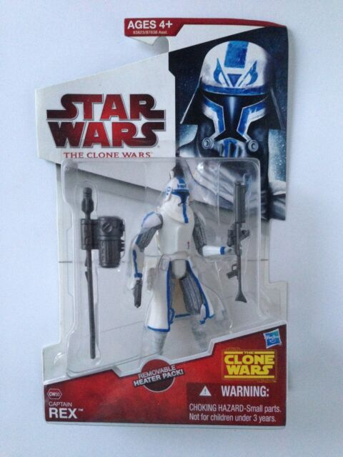 Star Wars Captain Rex The Clone Wars CW50 Action Figure 2009