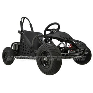 New-48v-1000w-3-speed-control-High-Performance-Electric-Off-Road-Go-Kart-Black