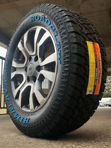 Ford-Ranger-Wildtrak-18-Inch-Genuine-Wheels-And-New-All-Terrain-Tyres