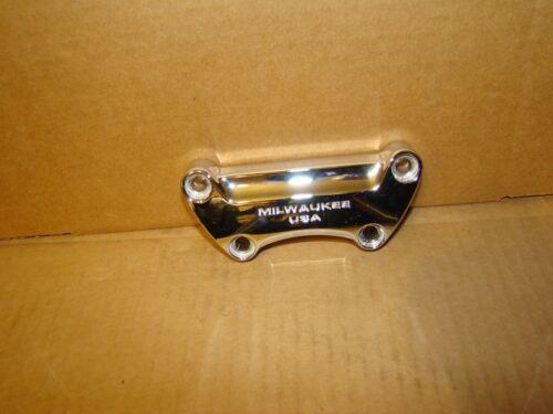 Harley Dyna Softail Sportster Handlebar Clamp OEM Milwaukee USA 55900025