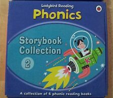 Ladybird Reading Phonics Collection Box 2 (6 books) Penguin Books H'back readers