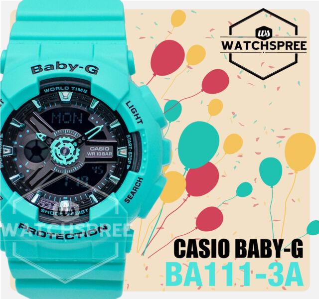 Casio Baby-G New Street Fashion Neon Watch BA111-3A AU FAST & FREE*