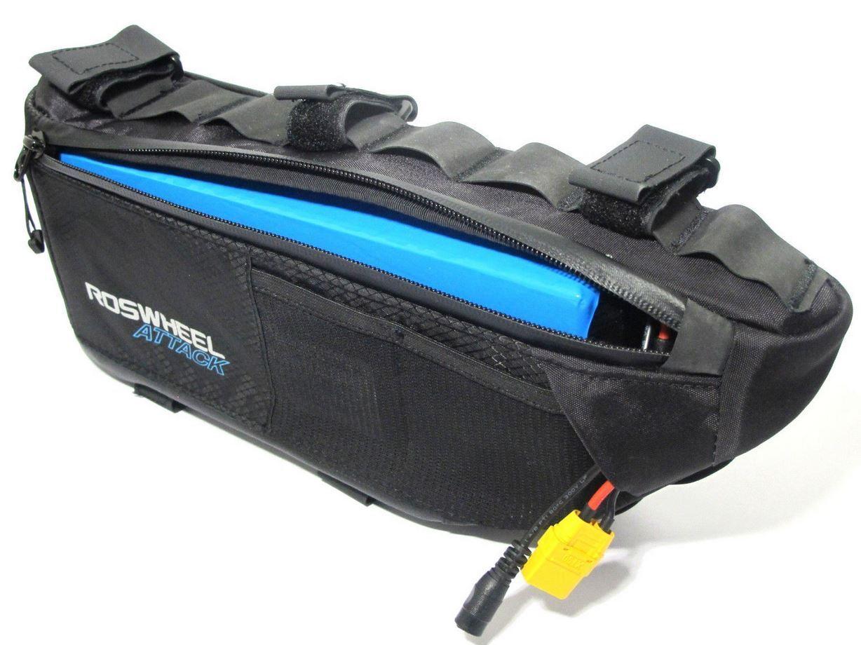 Enerpower Deluxe Battery Li-Ion 36V (37V) Pedelec E-Bike Reassembly+Frame Bag+DC