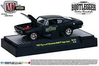 1:64 M2 Machines Bootlegger Bl02 = Black 1969 Plymouth Barracuda Hemi
