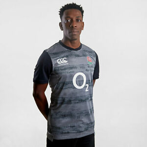 9093b5706f9 Canterbury Mens England 2019/20 Players Rugby Drill T-Shirt Tee Top ...
