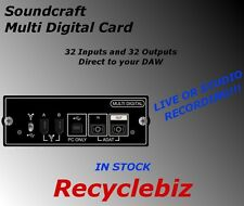 Soundcraft Multi Digital Recording Interface Card FOR Si Expression Performer