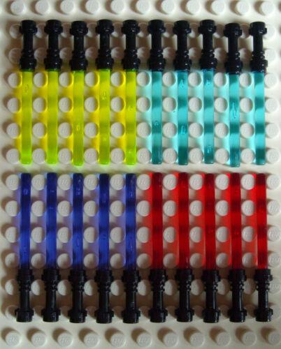 20 Lego Light Saber Black Handle IN 4 Colours