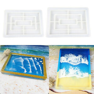 DIY-Flexible-Silicone-Tray-Mold-Epoxy-Resin-Casting-Mould-Jewelry-Coaster-Crafts