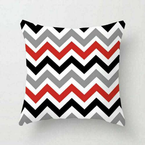 Creative Geometric Polyester Pillow Case Waist Cover Home Decor Throw Cushion