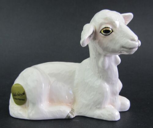Goat Ceramic Figurine White John Beswick Boxed