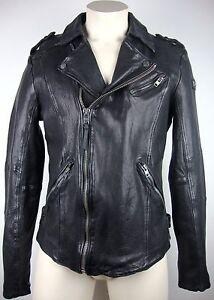 TIGHA ALEN LEDERJACKE Herren Leather Jacket Bikerstyle Gr.XL