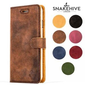 size 40 82acb 77789 Details about Snakehive Samsung Note 9 Premium Genuine Leather Wallet Case  w/ Card Slots