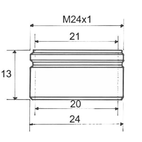 3 Stück NEOPERL DL Perlator Strahlregler Luftsprudler M24x1AG