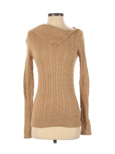 Tommy Hilfiger Women Brown Pullover Sweater XS - image 1