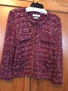 tricot 8 40 tweed Ariana en veste rouge en Pull rouge Isabel Marant de S mélangé 4Pf70