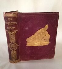 1865 The Aquarium Popular Account Marine Freshwater Animals George Sowerby