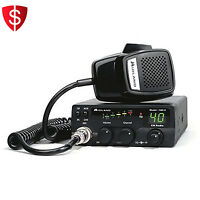 40 Channel Mobile Cb Radio 1001z Digital Power Meter Squelch Control Midland