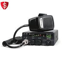 40 Channel Mobile Cb Radio 1001z Digital Power Meter Squelch Control Midland