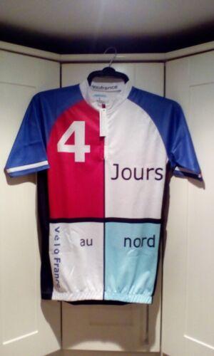 Velofrance 4 Jours Au Nord Brand New Ltd Ed Size Medium Cycling Jersey