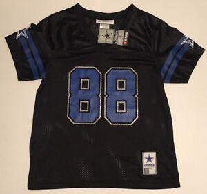 quality design 05926 f3fed Details about NWT Dallas Cowboy Authentic Apparel Black Jersey Dez Bryant  88 Glitter Women NFL