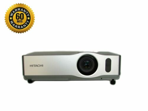 Hitachi CP-X201 LCD Projector 2100 ANSI HD 1080i HDMI Adapter Remote TeKswamp