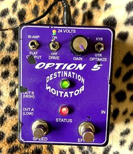 OPTION 5  Destination Rotation Leslie Rotating Speaker Simulator & power supply