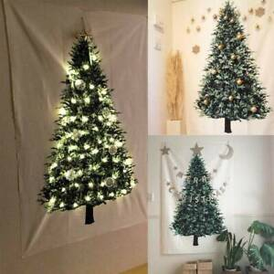 Christmas Tree Fabric Tapestry Wall Hanging For Living ...