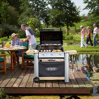 Outback Spectrum Hooded 3 Burner Gas BBQ