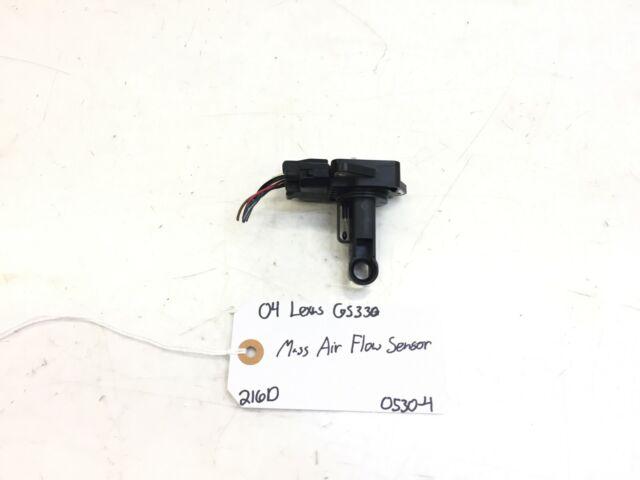 04 LEXUS GS330 MASS AIR FLOW SENSOR OEM 22204-22010