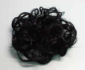 Üppiges großes Haarteil Haargummi Zopfgummi Haarverdichtung schwarz - NRW, Deutschland - Üppiges großes Haarteil Haargummi Zopfgummi Haarverdichtung schwarz - NRW, Deutschland