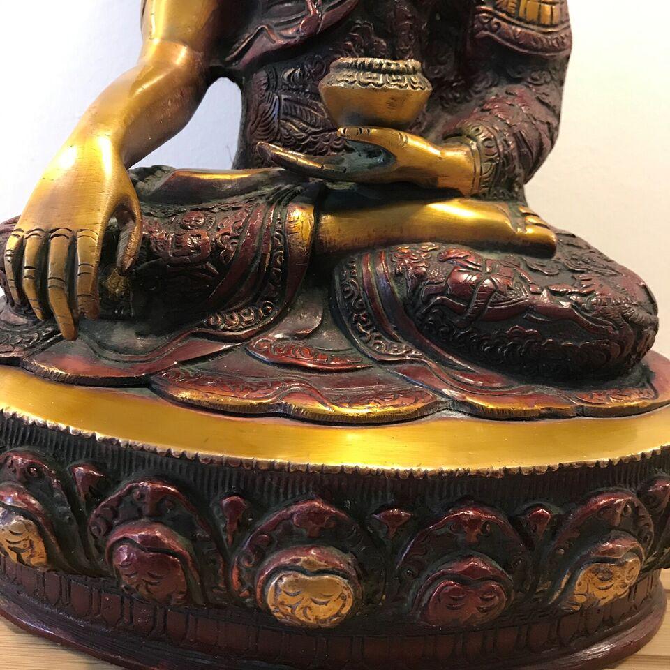 Bronzefigur, motiv: Budda