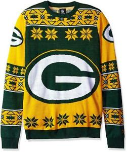 half off adc5a 95a84 Details about New Licensed Green Bay Packers Ugly Christmas Sweater Size XL  Retail $69 __S146