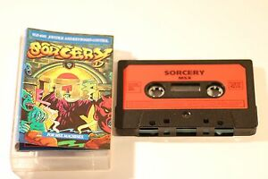 RARE-SONY-MSX-GAME-SORCERY-BY-VIRGIN-1985-CASSETTE-GAME