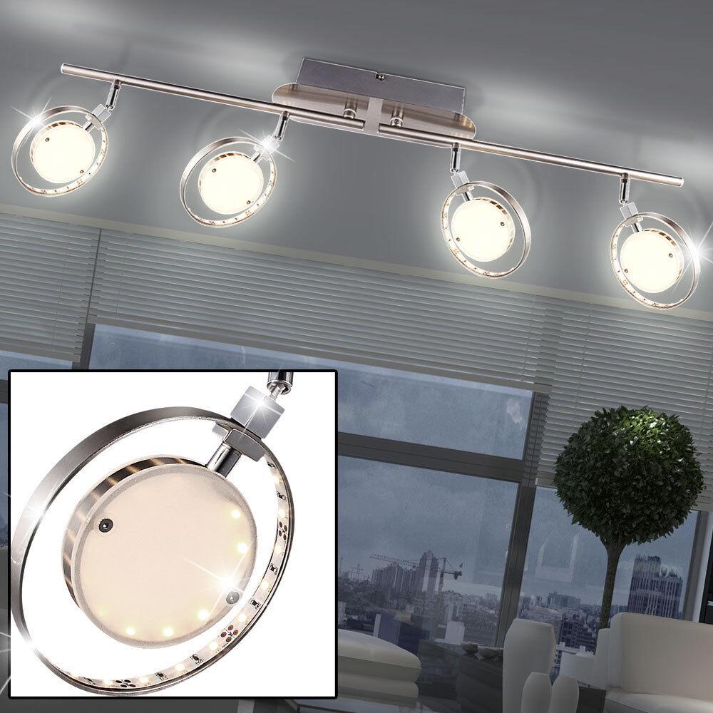 lámpara habitación De LED sueño Orientable Vidrio Lujo Spot eW29EYDHI