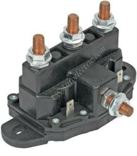 control Relay for Reversible Motors Solenoid SRY22017 Winch Camper slideout