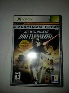 CIB-Star-Wars-Battlefront-Microsoft-Xbox-2004-COMPLETE-IN-BOX