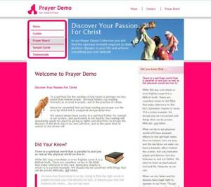 CHRISTIAN PRAYER GUIDES STORE Website Business For Sale
