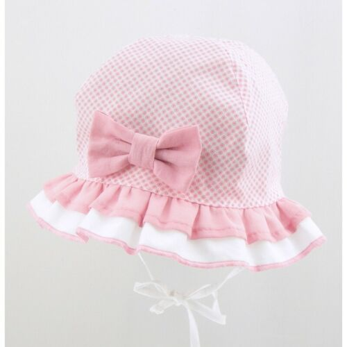 BRAND NEW LIGHT AND AIRY SUMMER HAT//CAP//BONNET FOR GIRL//BABY//TODDLER WITH BOW