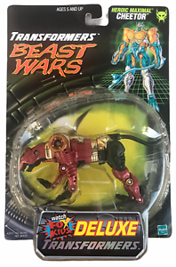 Transformers Beast Wars Transmetals Cheetor Red Variant Action Figure NEW 1999