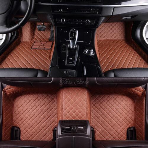 Fiat 500 Fließheck coupe ab 2000 Auto-Fußmatten Satz Kunstleder Innenraum