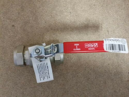 BOSS Ball Valve Boss 968SRL 28mm Compression Red Lever Handle Top Quality Brand