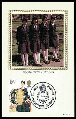 SchöN Gb Uk Mk 1982 Girl Scouts Brigade Musik Music Carte Maximum Card Mc Cm Bb06 Noch Nicht VulgäR
